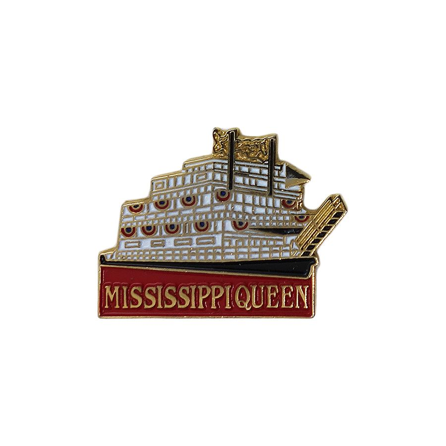 MISSISSIPPI QUEEN ピンズ 蒸気船