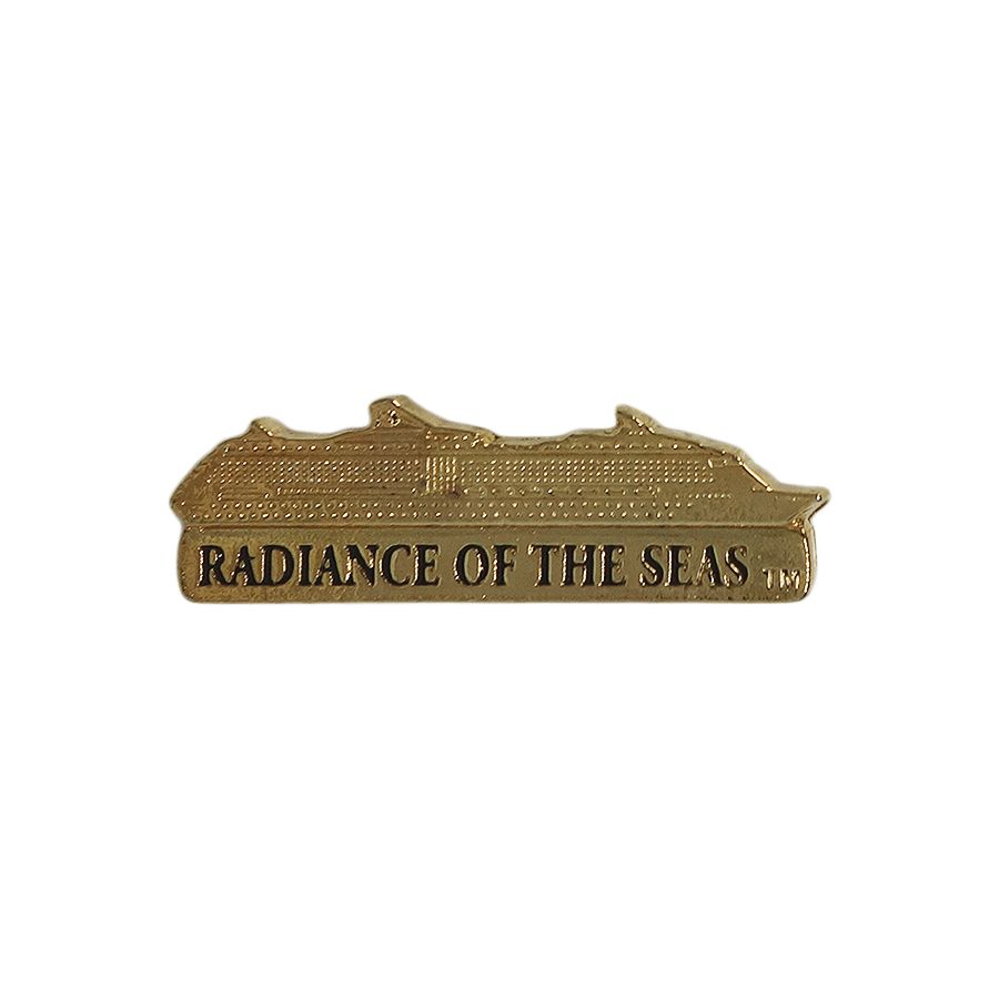 RADIANCE OF THE SEAS ピンズ クルーズ客船 留め具付き