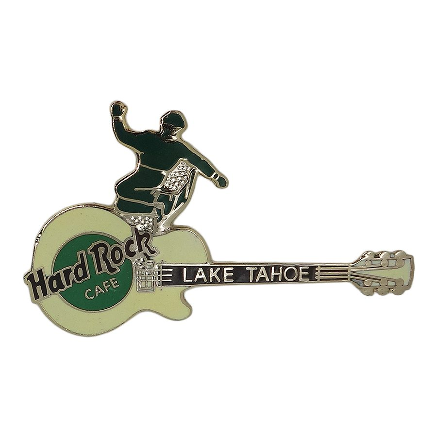 Hard Rock CAFE ギター ブローチ ハードロックカフェ LAKE TAHOE