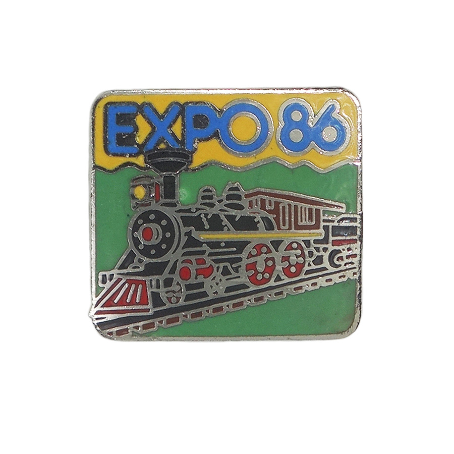 EXPO86 ピンズ 蒸気機関車
