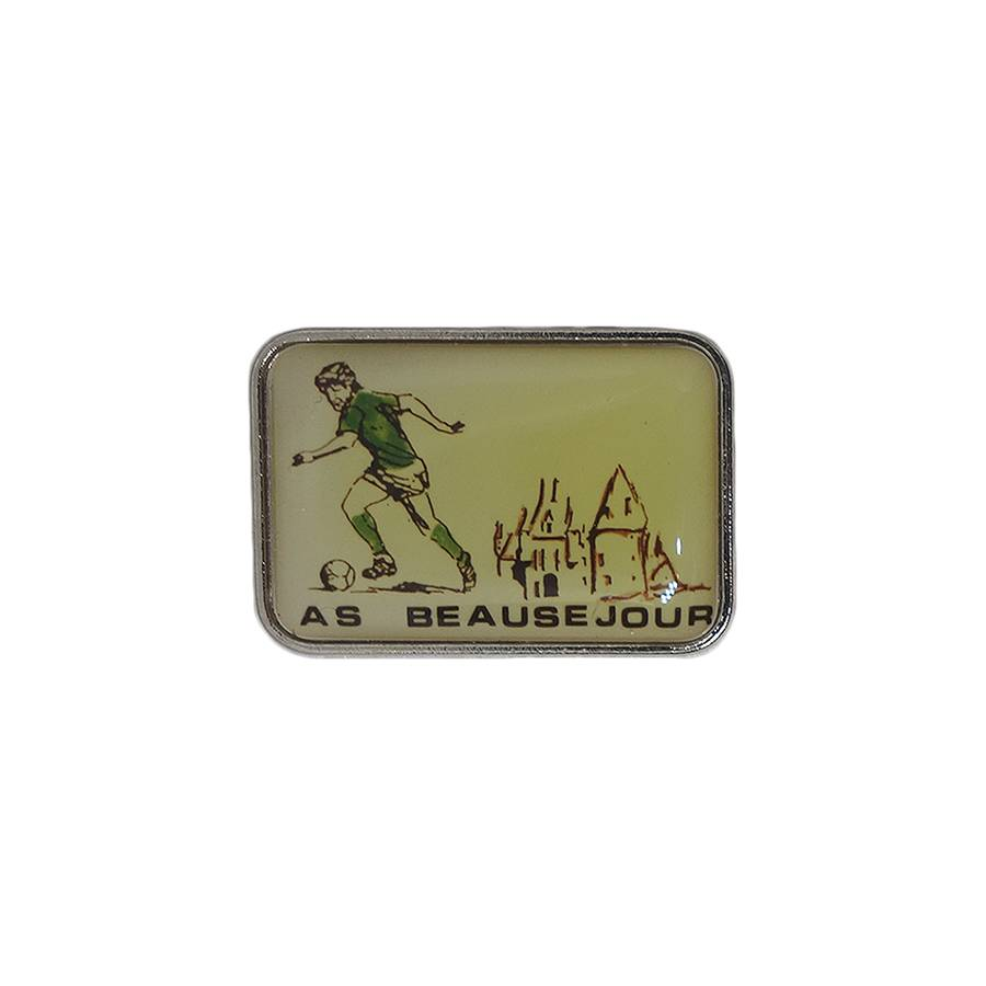 AS BEAUSEJOUR ピンズ サッカー 留め具付き